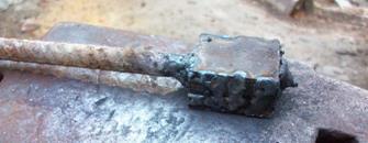 Sperimentazione forgiatura acciaio a pacchetto