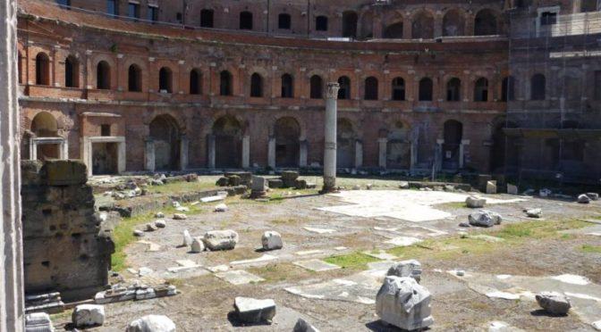 Colonna e mercati di Traiano (RO)